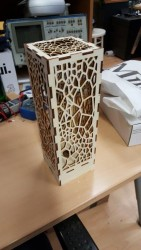 Lasercutted Lamps